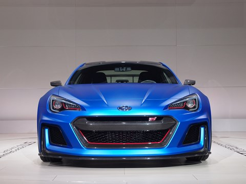 The Subaru BRZ by STI. Come on - build this!