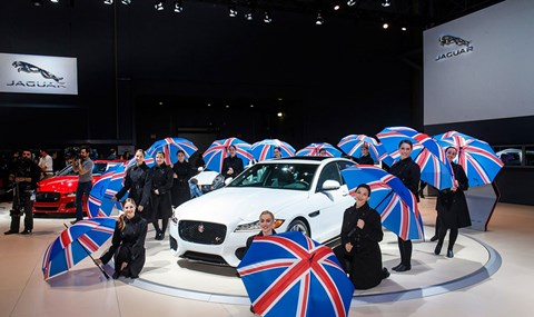 The 2015 New York auto show was all about brands from Blighty