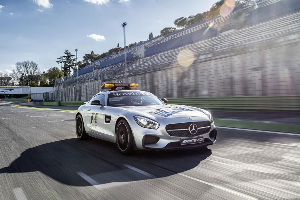 10) Mercedes AMG GT S: The Present Safety Car