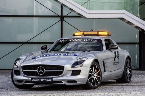 the car top 10 f1 safety cars by car magazine. Black Bedroom Furniture Sets. Home Design Ideas