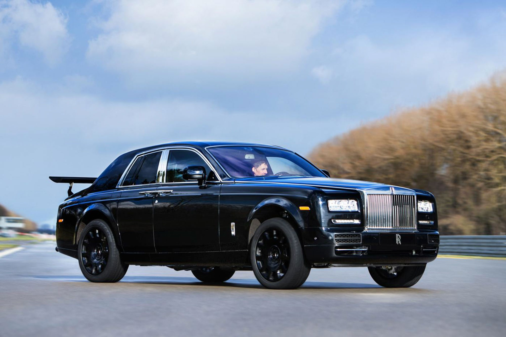 First look at the new Rolls Royce SUV sort of prototype revealed