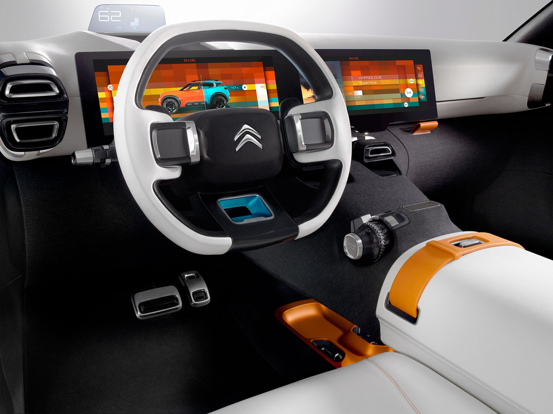 citroen aircross concept 2015 a bumpy car for bumpy. Black Bedroom Furniture Sets. Home Design Ideas