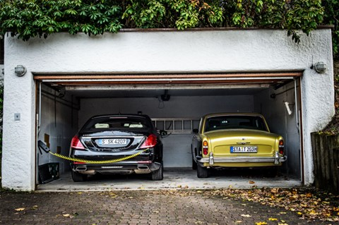 Mercedes old and new