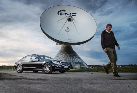 CAR magazine's Georg Kacher and his S500 PHEV