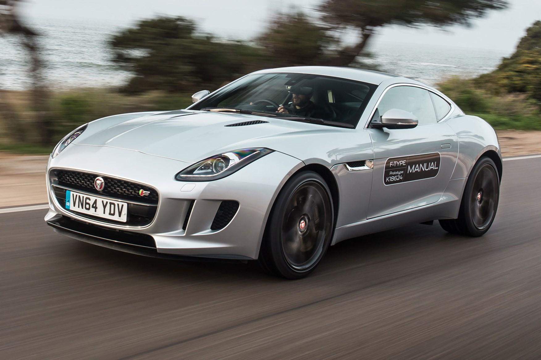 Jaguar F-type V6 S manual (2015) review