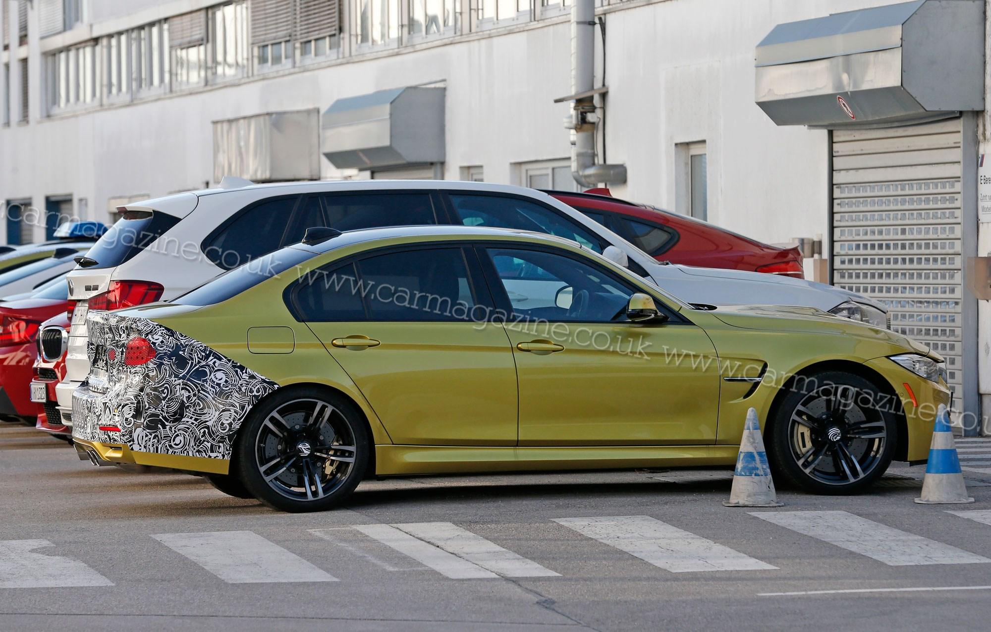 Bmw M3 Facelift 2015 First Sighting Car Magazine