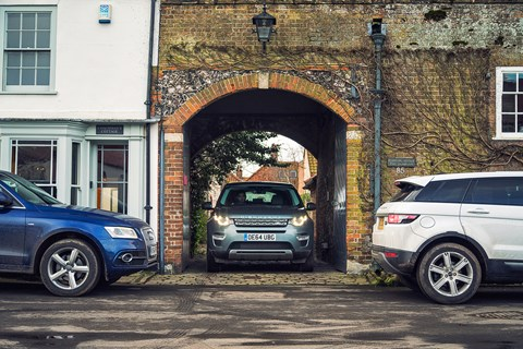 Land Rover Discovery Sport, shot in Norfolk for CAR magazine by Richard Pardon