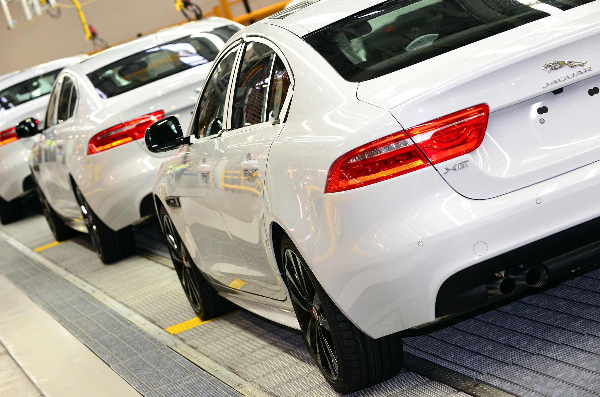 Jaguar XE production starts: it's the first Jag to be built at Land