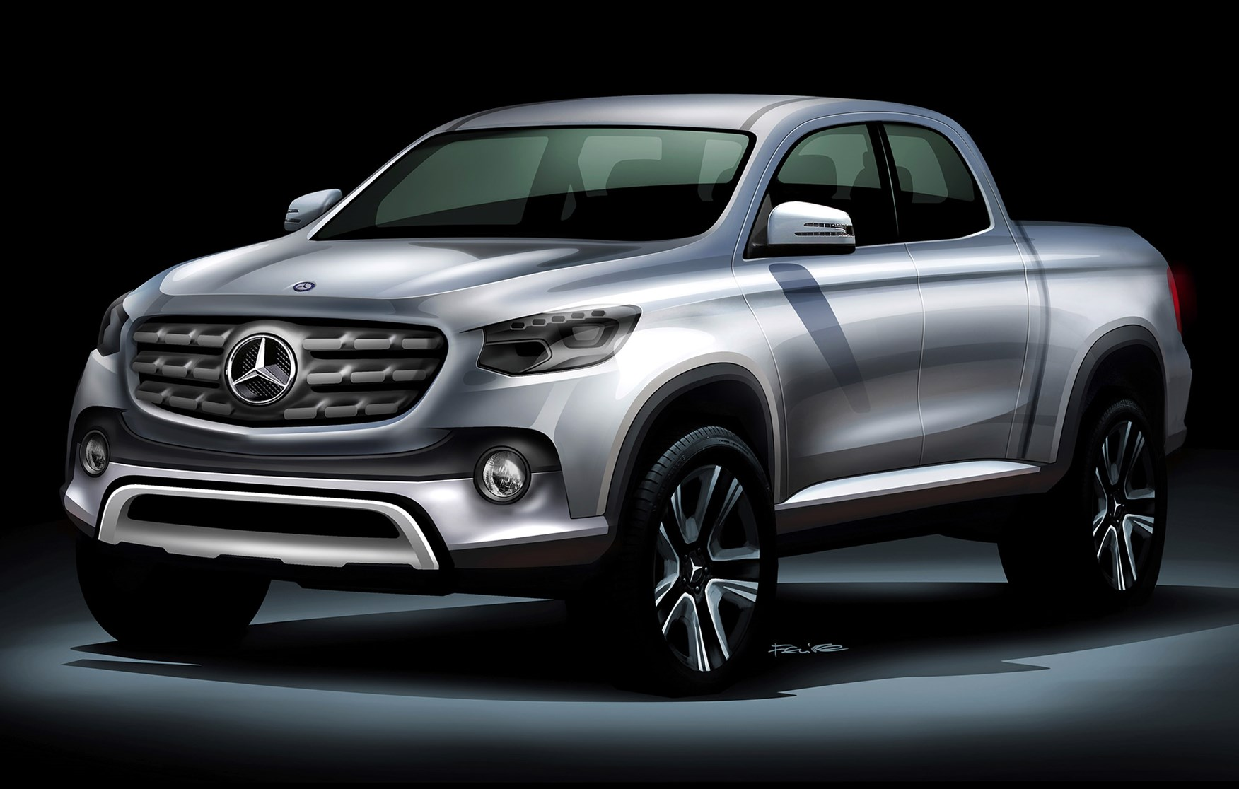 mercedes glt: merc chief on his new pick-up truck developed with