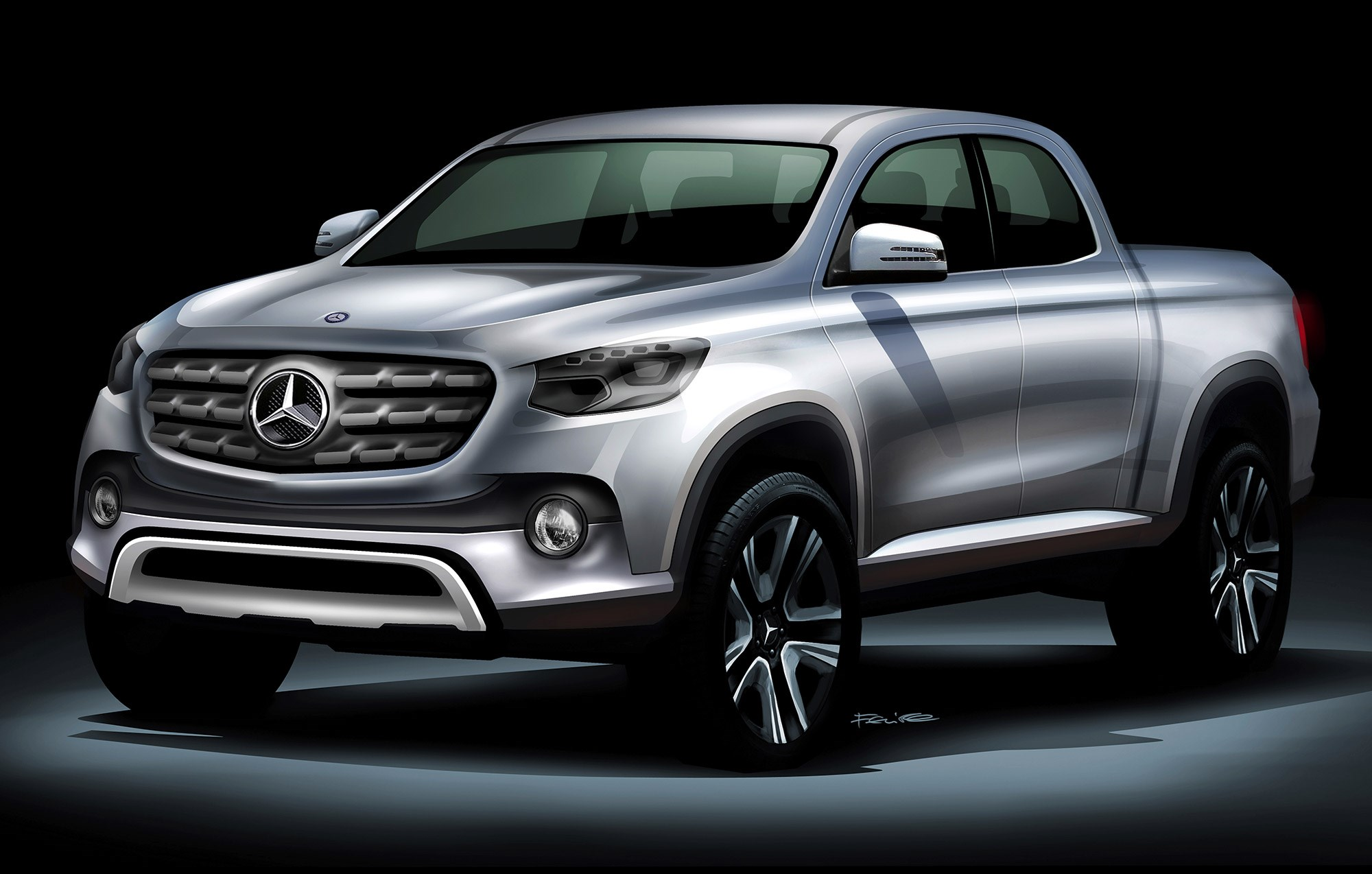Mercedes GLT: Merc chief on his new pick-up truck ...