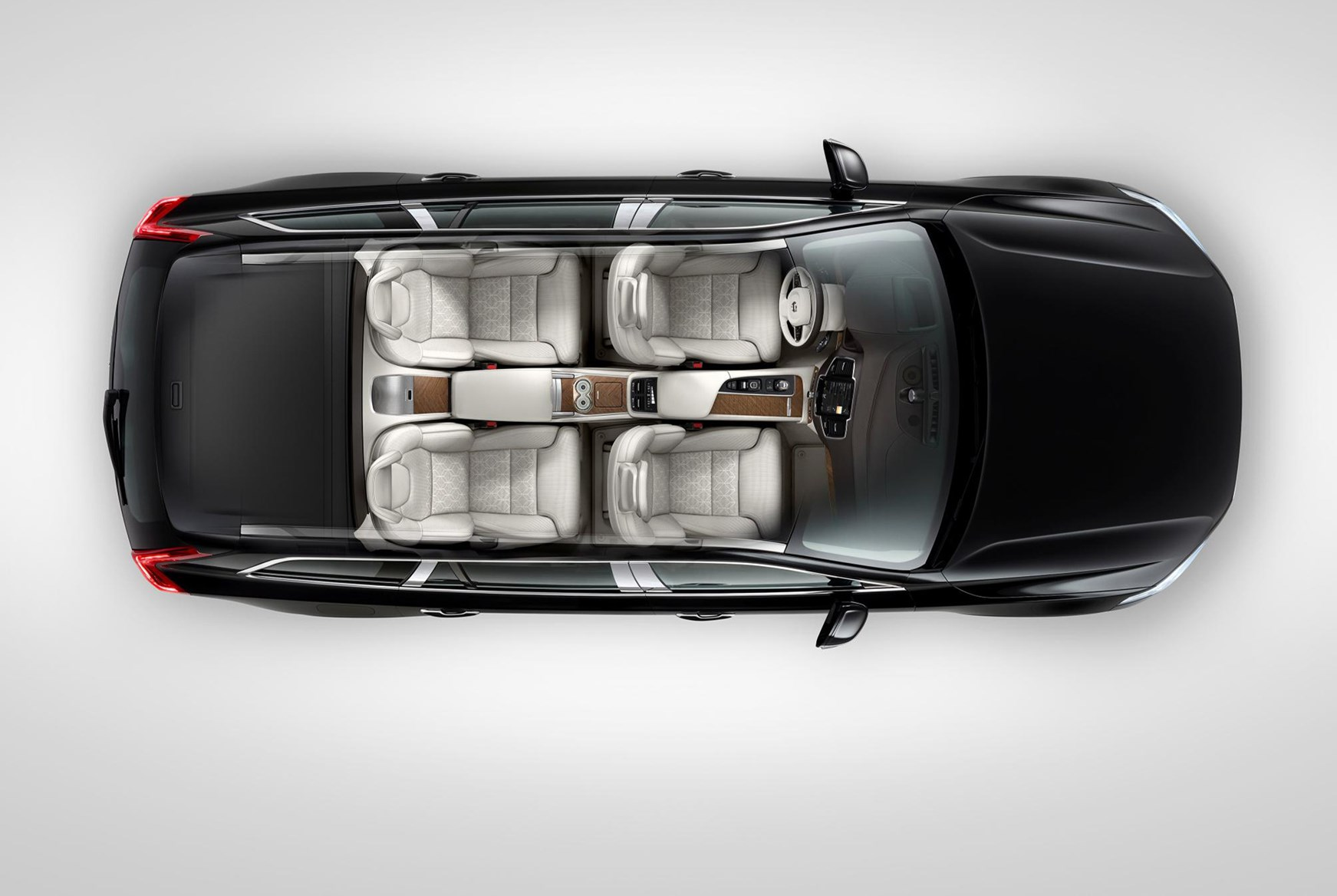 Volvo Xc90 Excellence Four Seater Suv Unveiled At 2015