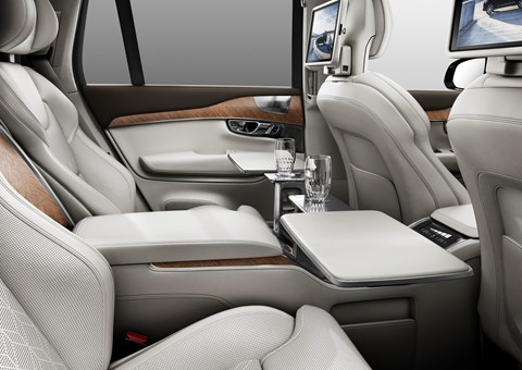 Luxury ahoy! The Volvo XC90 Excellence pampers aplenty