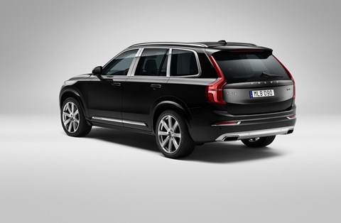Volvo XC90 Excellence: a four-seater luxury crossover