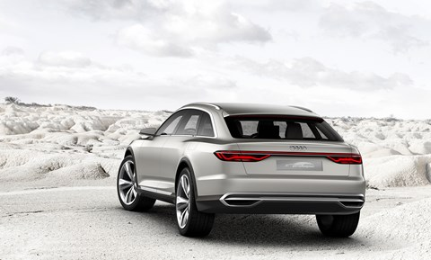 The Audi Prologue Allroad: bound for Auto Shanghai 2015