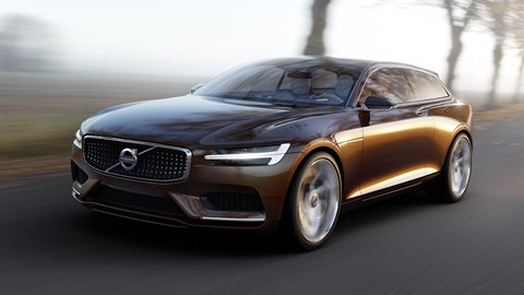Volvo Concept Estate: a blueprint for the V90 wagon coming in 2016