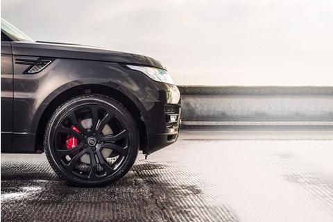 Range Rover Sport 22-inch wheels