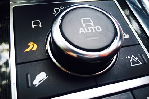 Range Rover Dynamic Response system