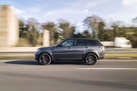 CAR's bronzed Range Rover Sport
