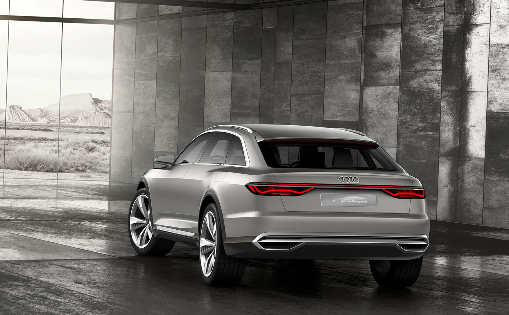 Audi Prologue Allroad Concept Car Veers Off Road At Auto Shanghai 2015 By Car Magazine