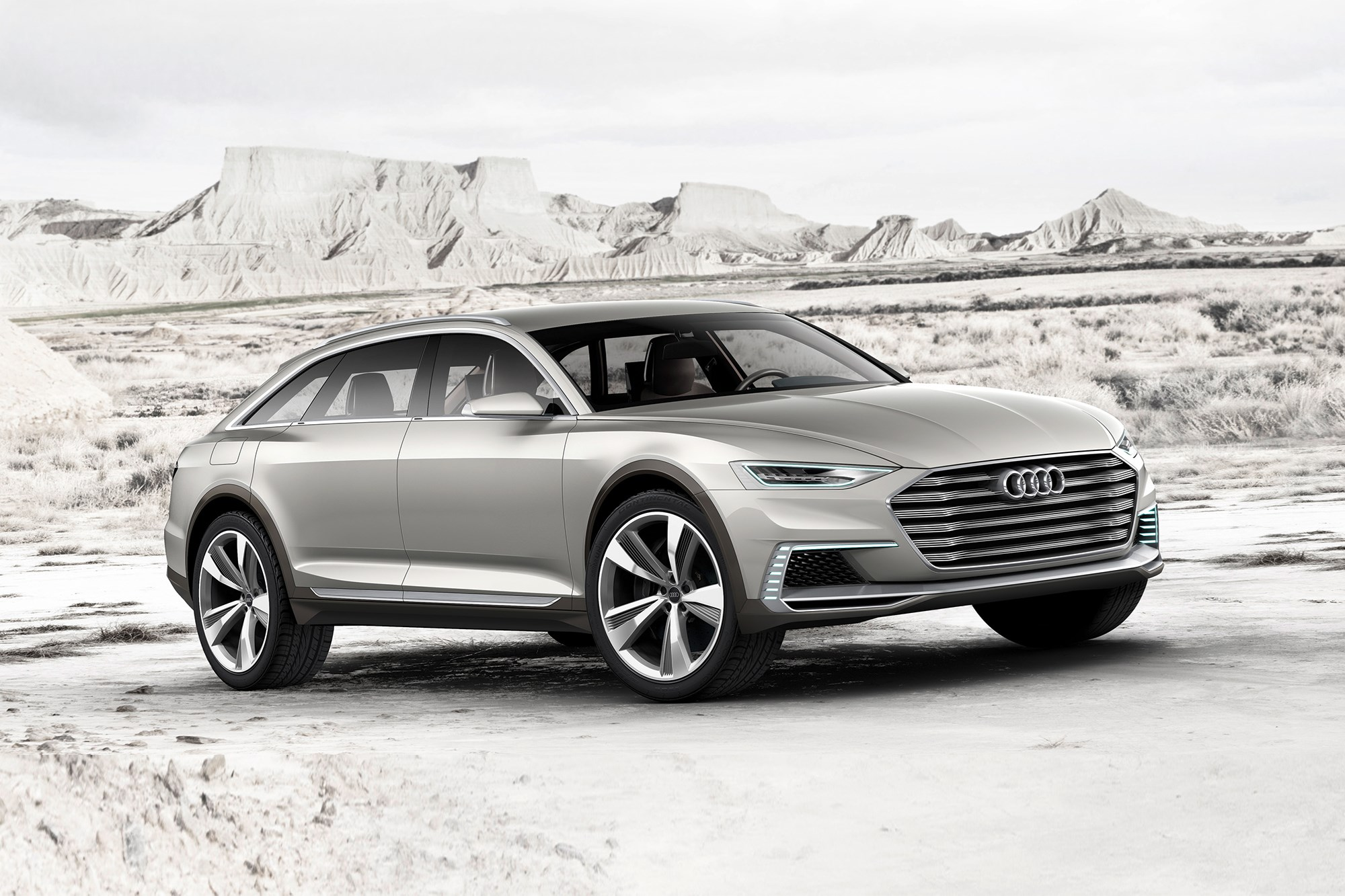 audi prologue allroad concept car veers off road at auto shanghai 2015 by car magazine. Black Bedroom Furniture Sets. Home Design Ideas