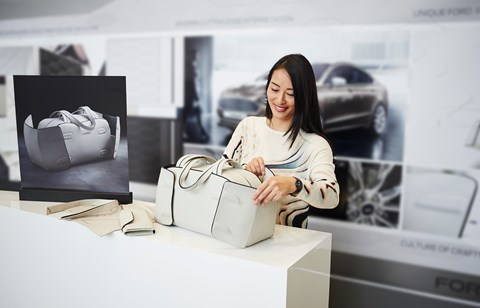 The Vignale Collection includes handbags and more merch