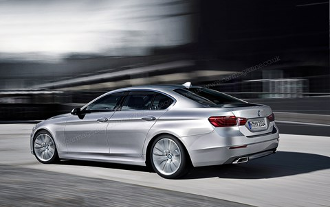 New 2016 BMW 5-series: based on new CLAR platform