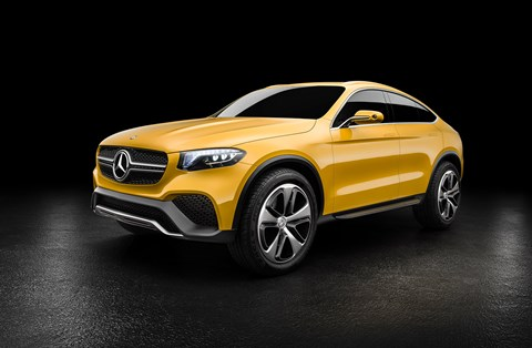 The Mercedes-Benz GLC Coupe