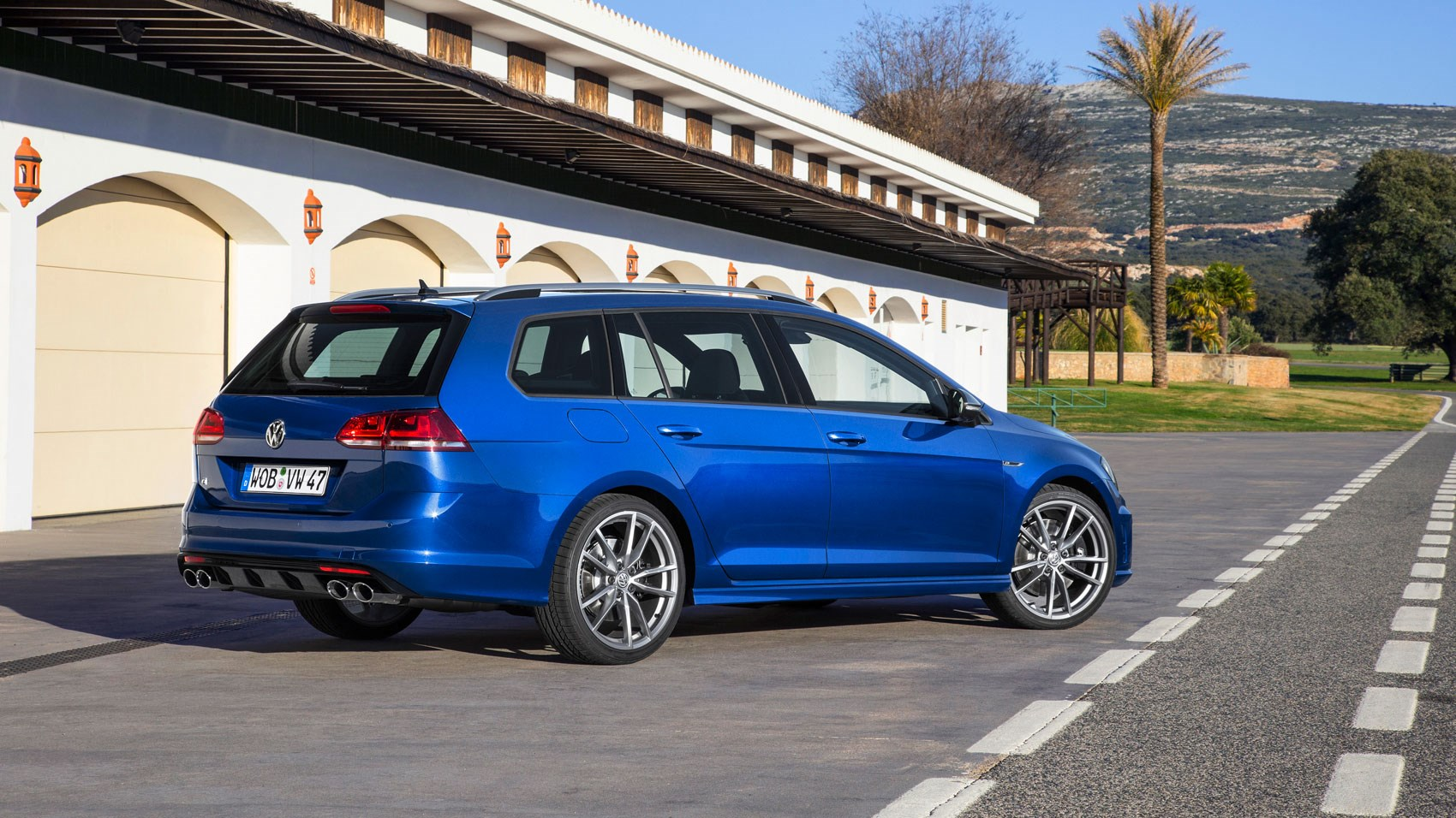 Like the hatch, the Golf R Estate gets a 296bhp 2.0-litre turbo engine