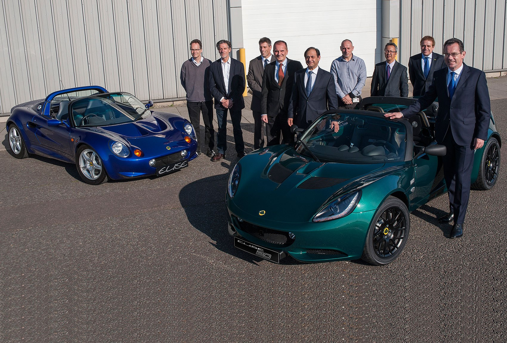 Lotus builds 40000 elise platformed cars by car magazine the 40000th member of the lotus elise family vanachro Gallery