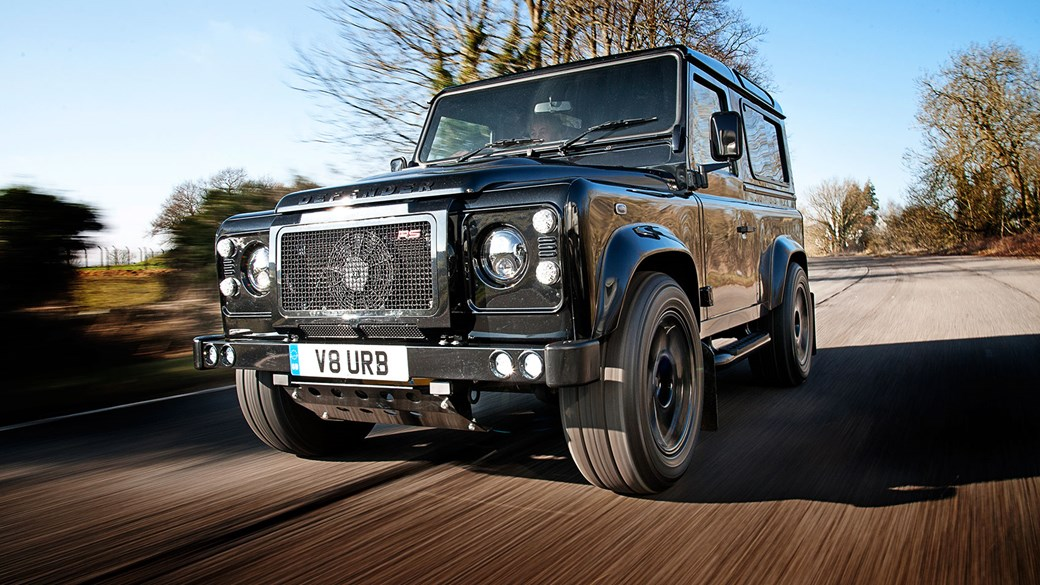 Land Rover Truck >> Land Rover Defender Urban Truck Rs Ultimate 2015 Review Car Magazine