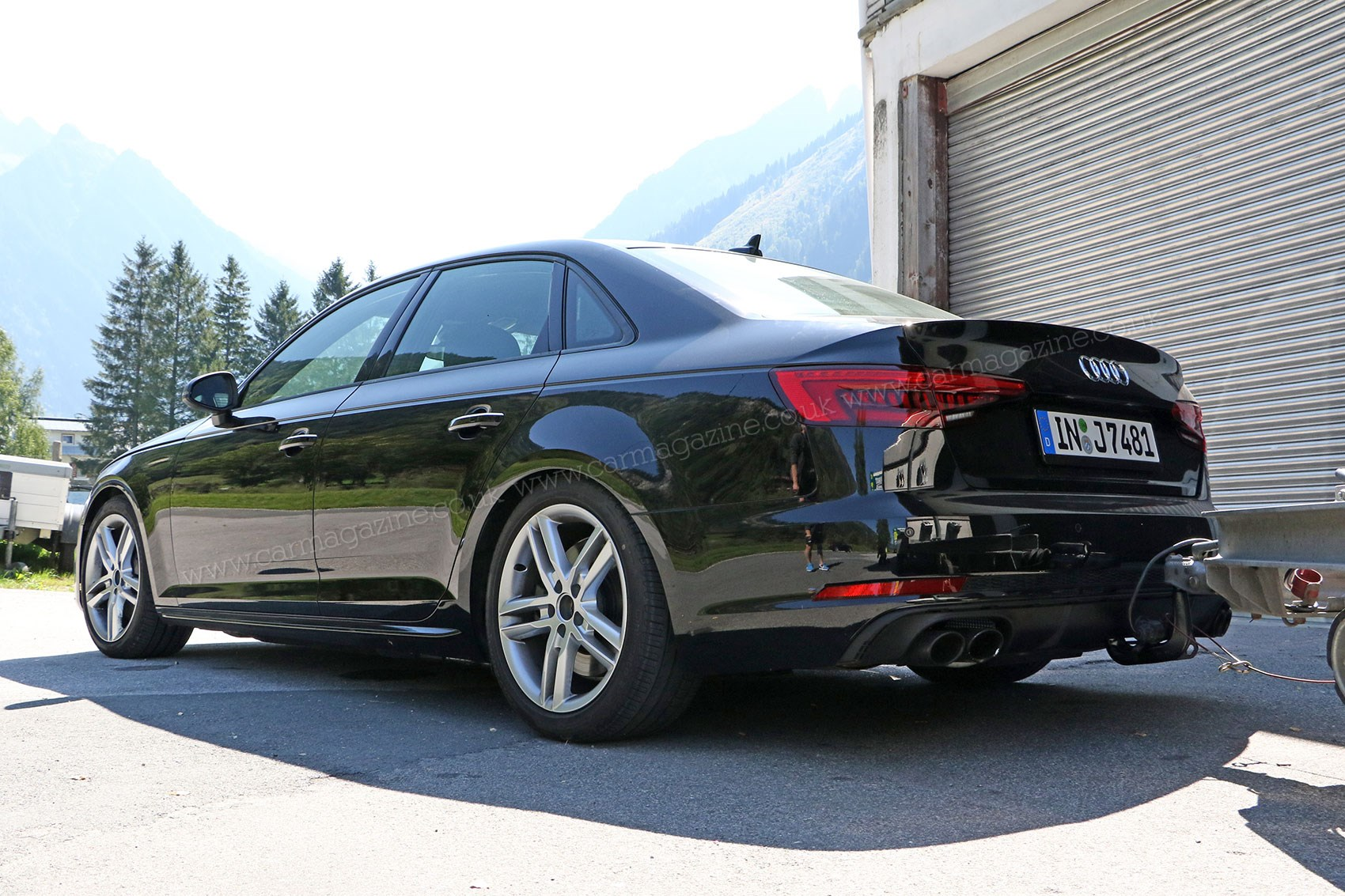 new 2016 audi s4 spied with barely any disguise by car. Black Bedroom Furniture Sets. Home Design Ideas