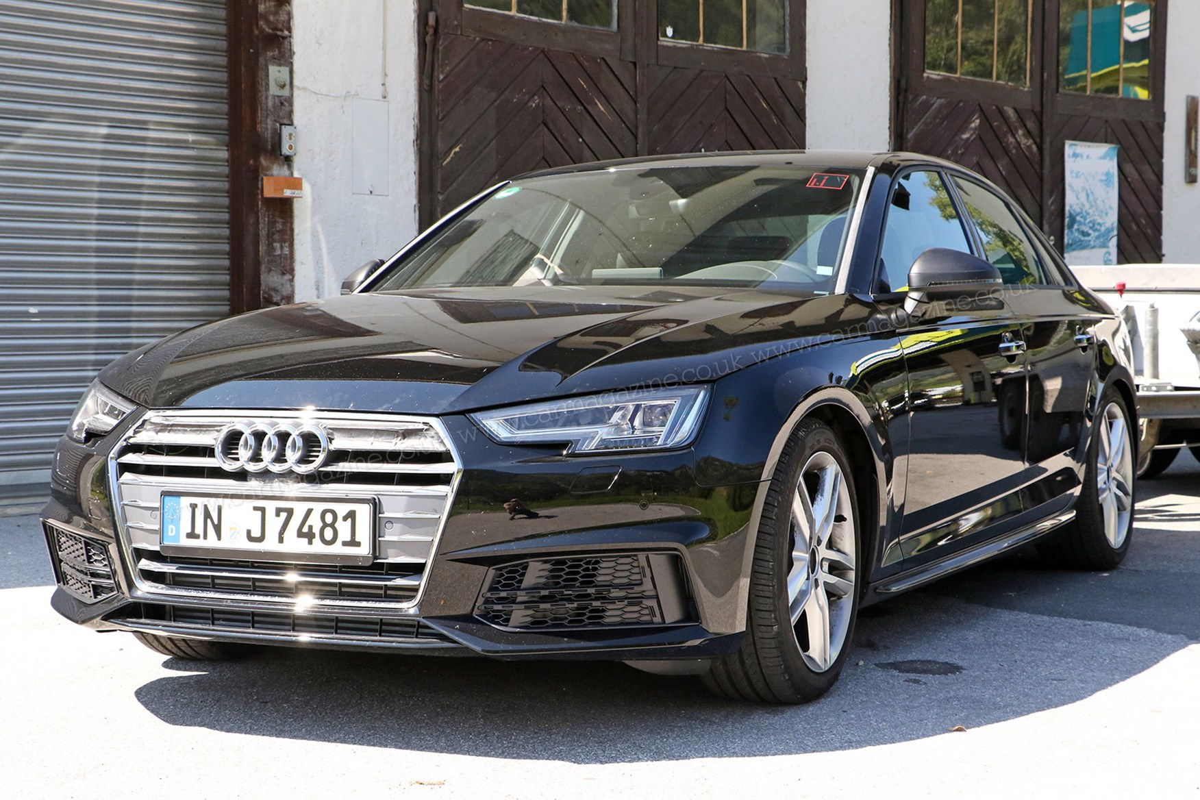 ... in 2016 Debadged S4 on towing duties New turbo V6 for 2016 Audi S4