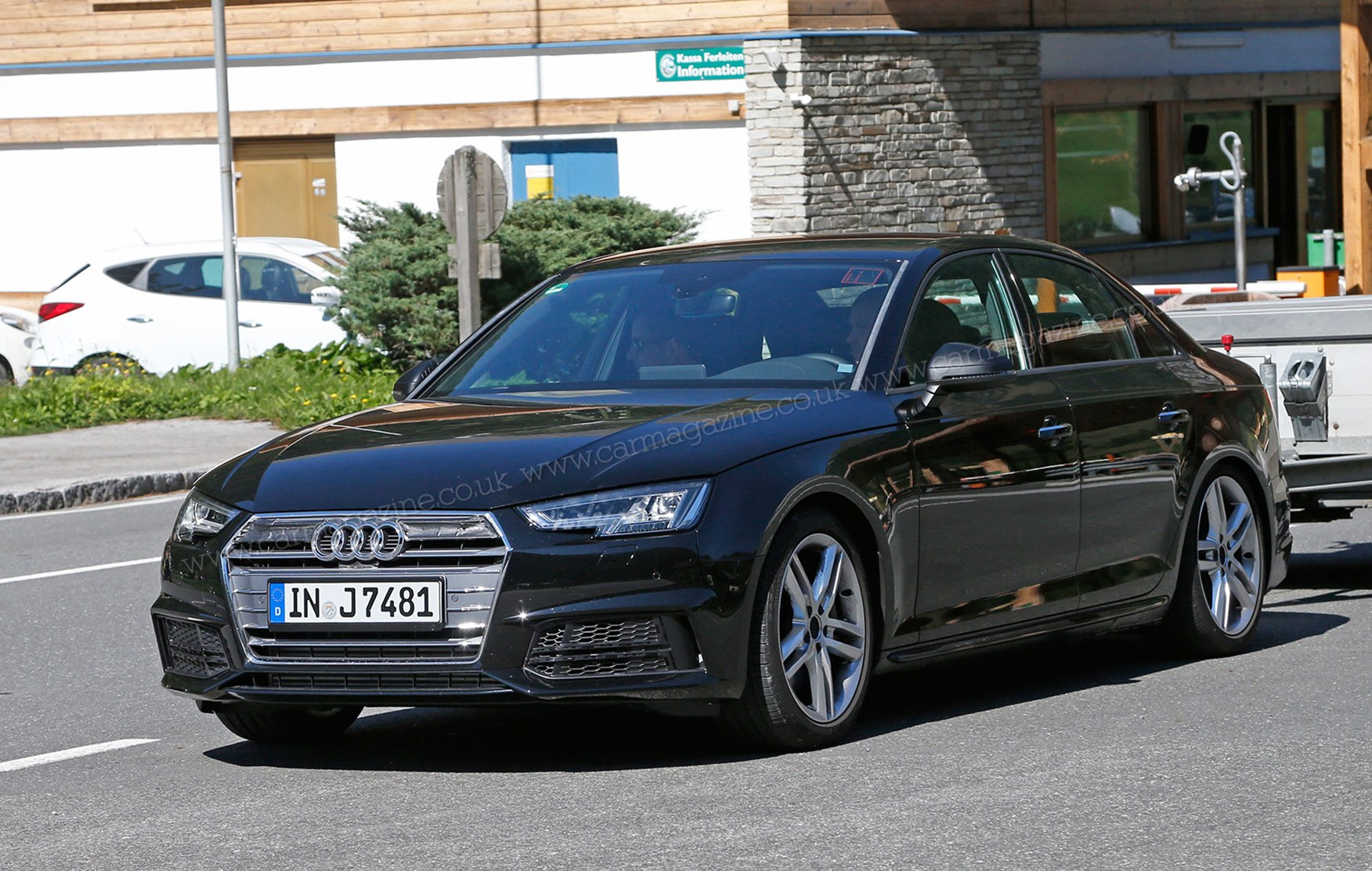 ... S4 Audi S4 prototype testing at the Nurburgring, 2015 New Audi S4 will
