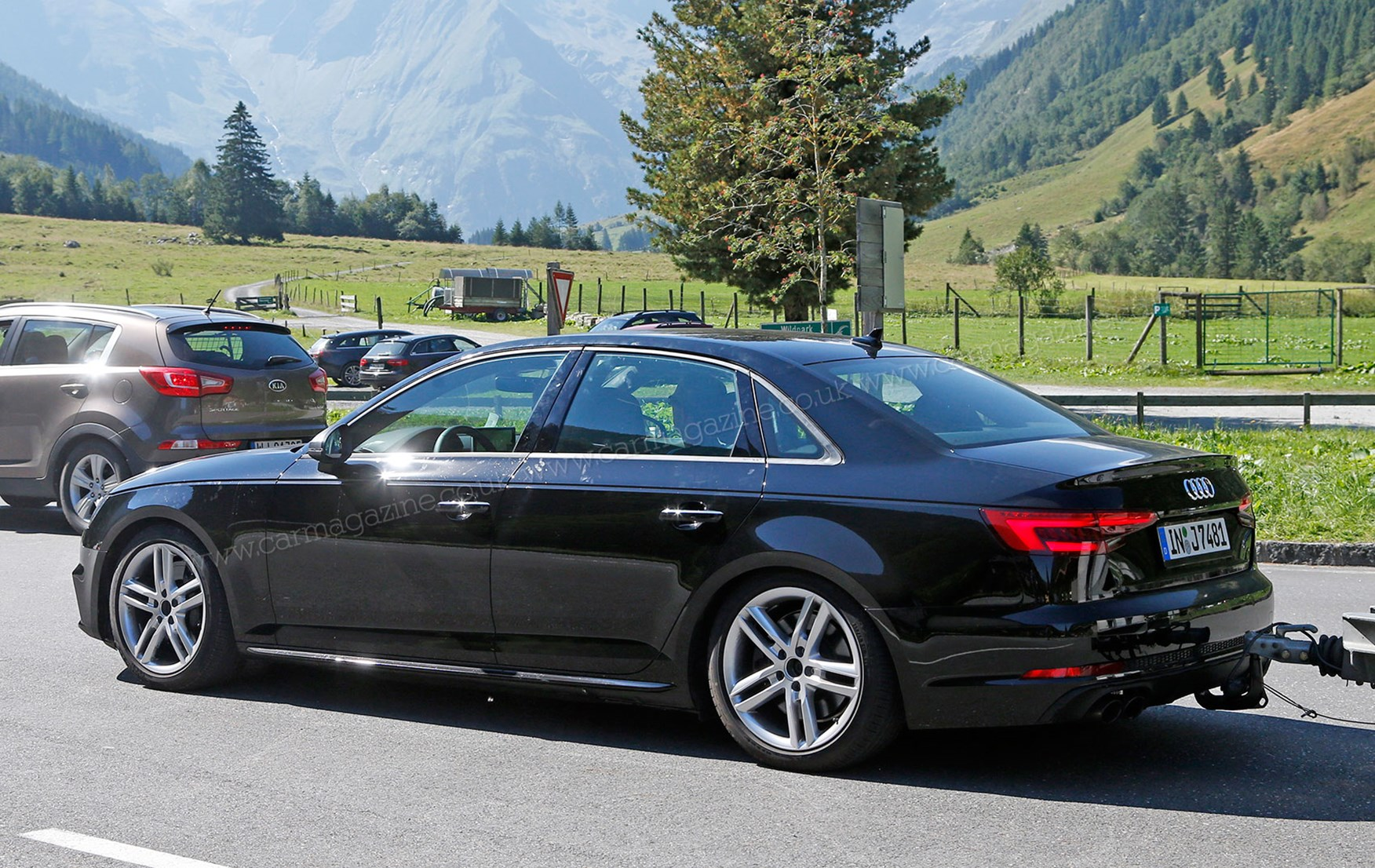 ... Audi S4 prototype testing at the Nurburgring, 2015 New Audi S4 will be