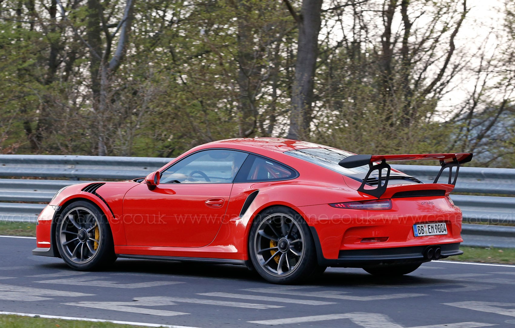 Mark Webber Spotted Driving 2015 Porsche 911 Gt3 Rs At The
