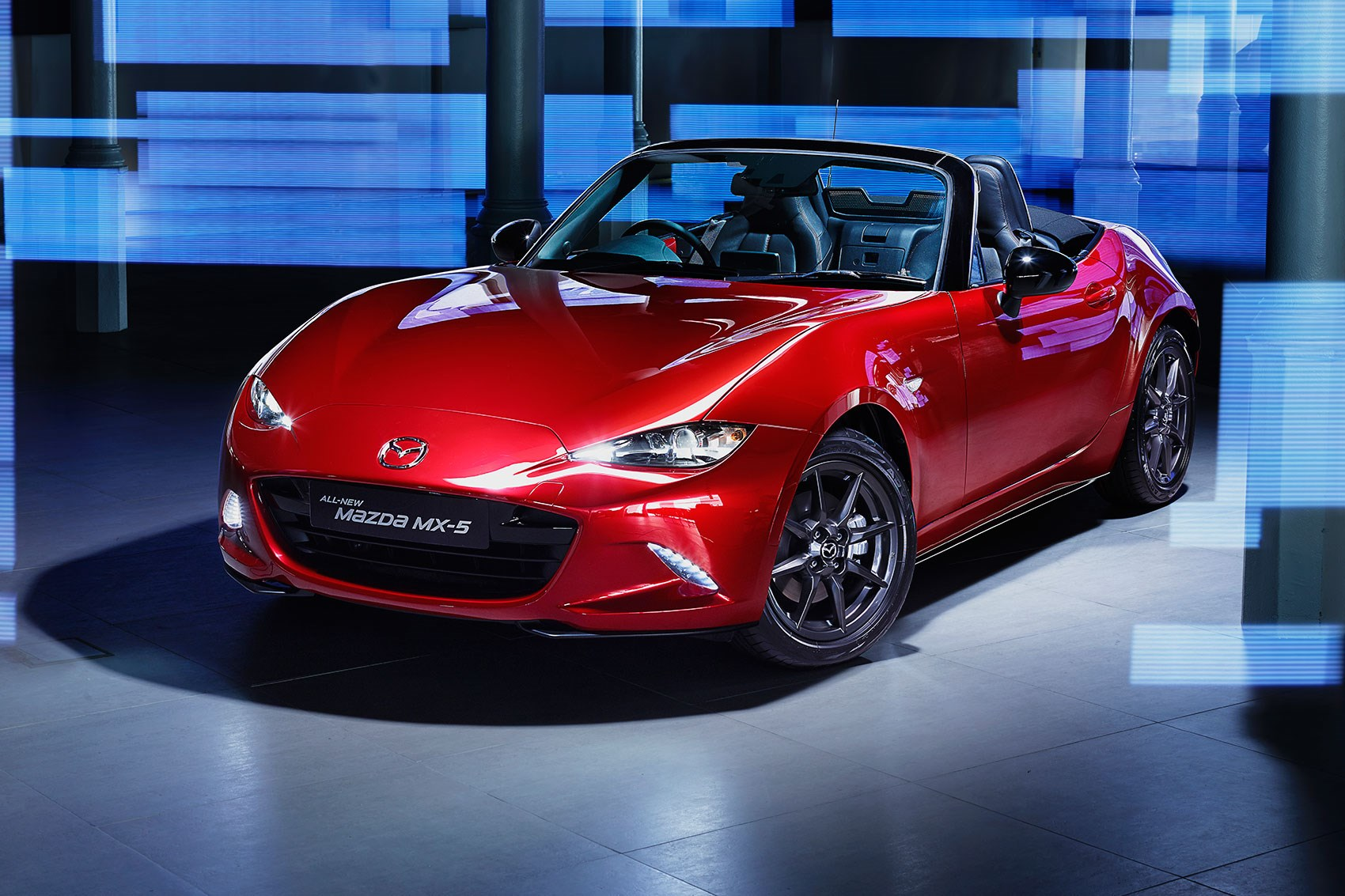 new mazda mx 5 offered with 0 finance priced from 18k. Black Bedroom Furniture Sets. Home Design Ideas