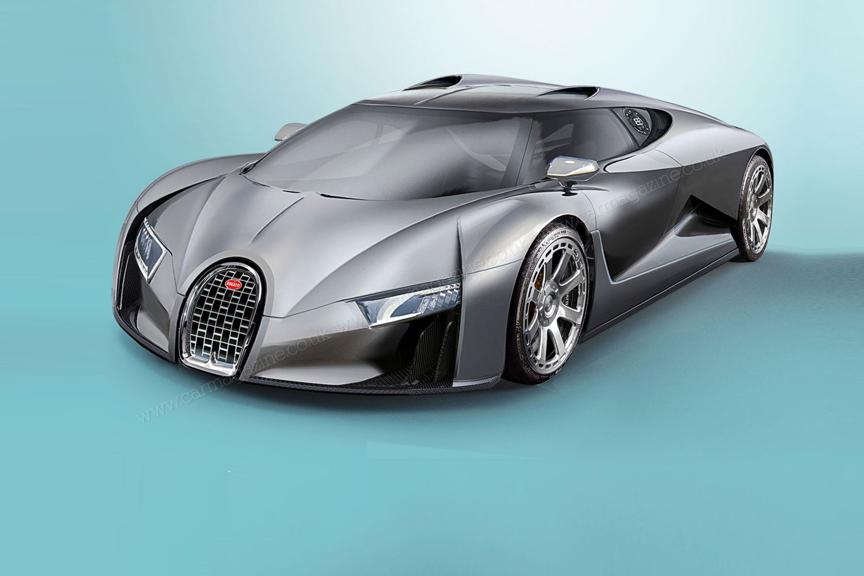 ... Bugatti Chiron: Artistu0027s Impression By CAR The Bugatti Veyron ...