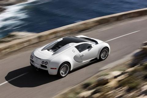 The predecessor: the Bugatti Veyron