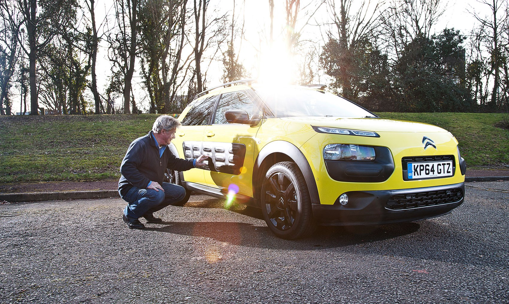 Anthony ponders the Cactus conundrum Anthony ff-C and his new Citroen C4  Cactus