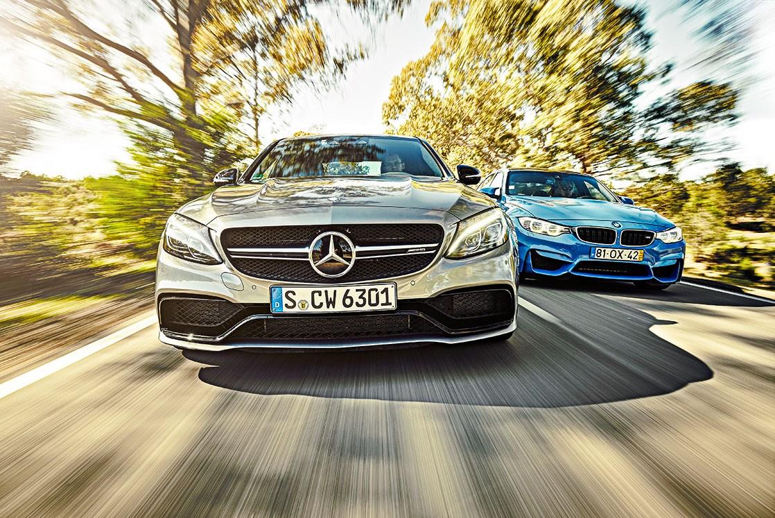 Mercedes Amg C63 Vs Bmw M3