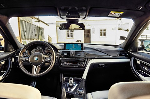 The BMW M3 cockpit: feeling its age prematurely?