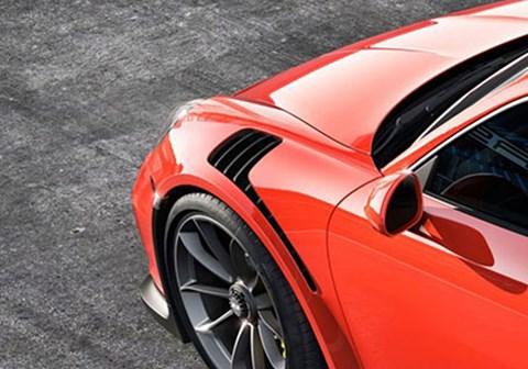 Porsche 991 GT3 RS vents