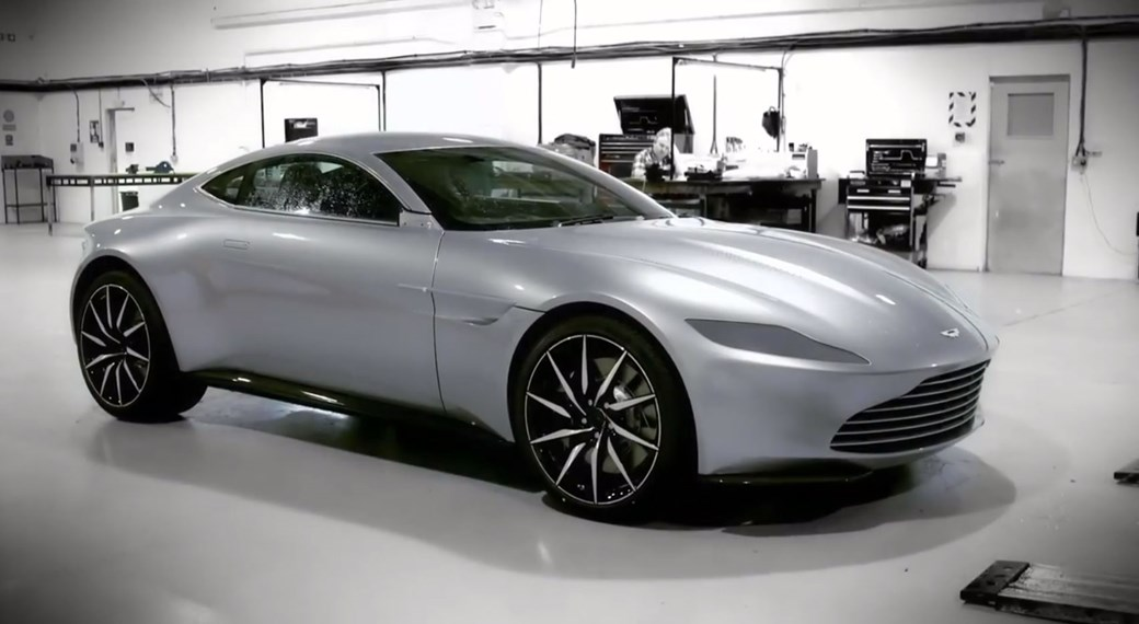The Aston Martin DB10 On Set Of 007 Film Spectre