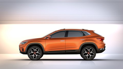 Seat 20V20 in side profile: meet the new 2016 SUV