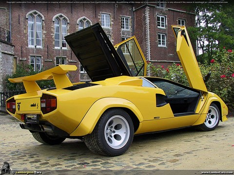Amin Sadek's favourite car: the 1980s Lambo Countach