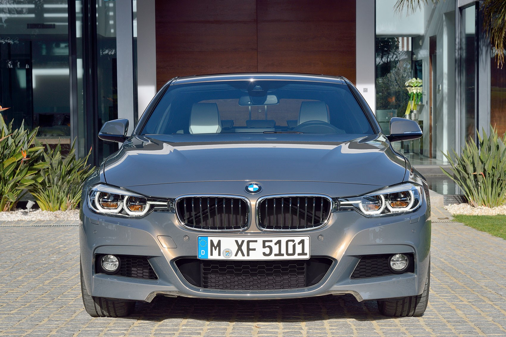 Revised 3 Series Front End Looks Lower And Wider