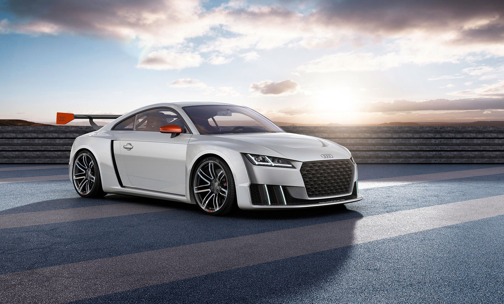 Audi TT Clubsport Turbo Unveiled For Worthersee A Wilder Kinda TT - Audit car