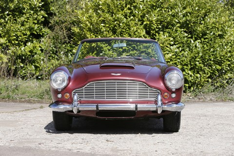 The ex-Sir Peter Ustinov Aston Martin DB4 Series IV Vantage soft-top