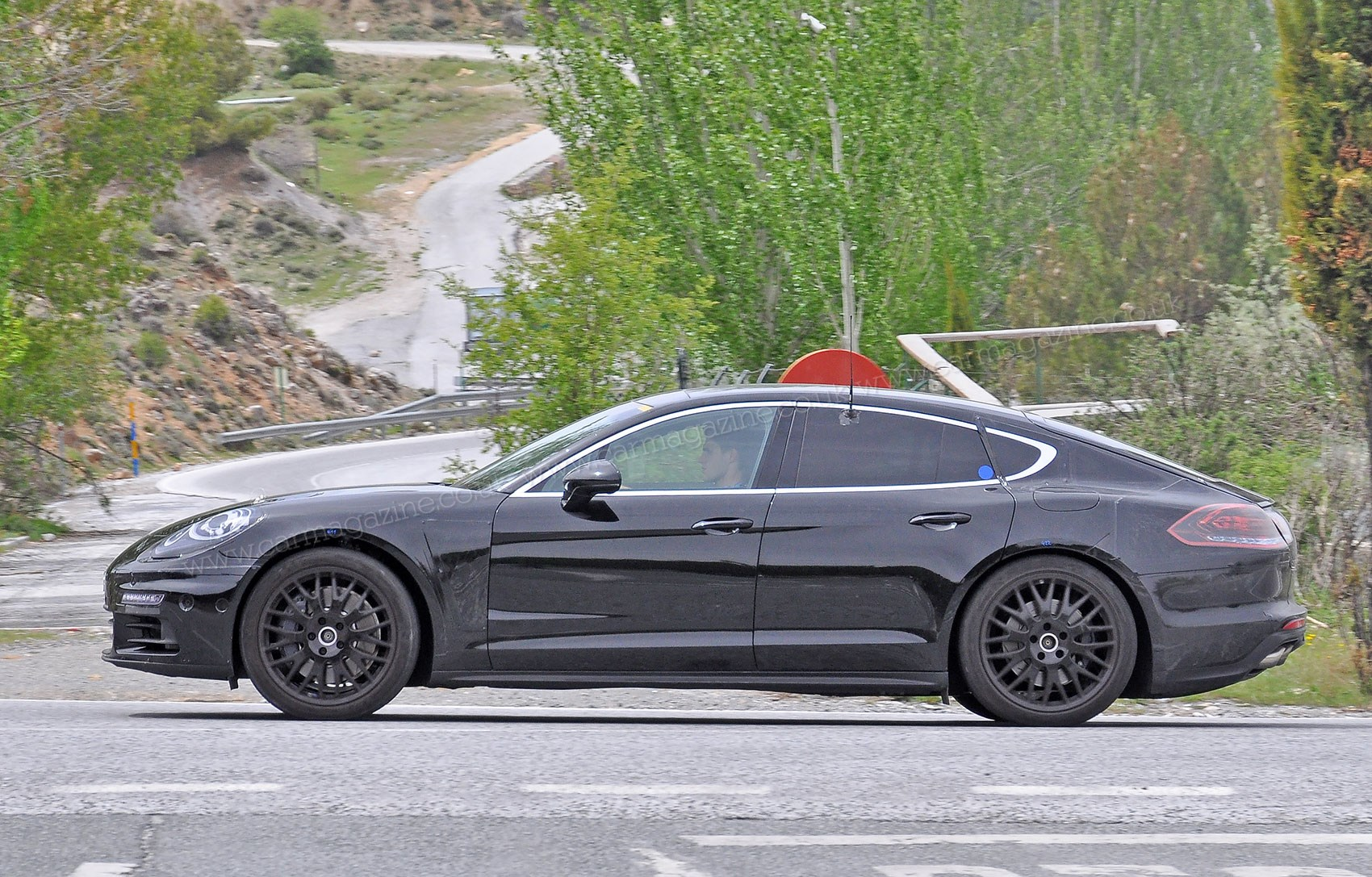 porsche panamera mk2 spyshots it s 2016 s new panam codenamed g2 by car magazine. Black Bedroom Furniture Sets. Home Design Ideas