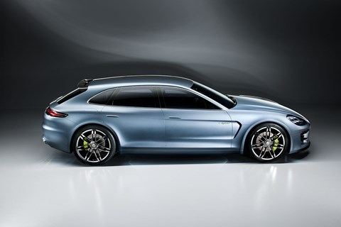 The 2012 Porsche Panamera Sport Turismo shooting brake concept - coming for real in 2016 G2 family